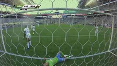 Raul Ruidíaz se 'comió' el empate de los Seattle Sounders