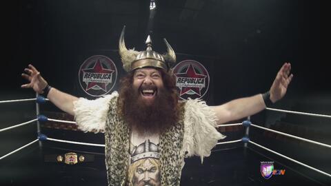 Rey Vikingo 'El Bárbaro'