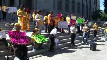 Piden a concejales de Los Ángeles aprobar una ordenanza para evitar el acoso de propietarios sobre inquilinos