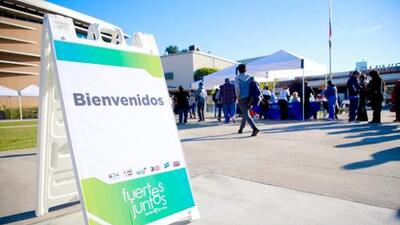 Fuertes Juntos, un evento de salud en Los Ángeles para proveer información a la comunidad sobre la diabetes