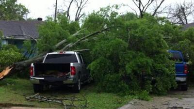 Tormentas severas para 82 Condados de Carolina del Norte