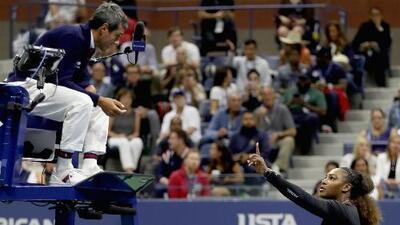Crecen las voces de apoyo a Serena Williams tras incidente con un árbitro del US Open al que señaló de 'ladrón'