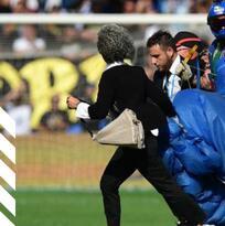 ¡Sorpresa desde los cielos en el Sassuolo vs Inter!