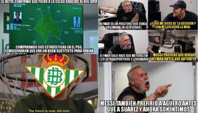 Las burlas al Betis de los mexicanos, Barcelona y Real Madrid en el mercado de fichajes