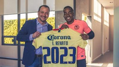 Oficial: Renato Ibarra renovó con América