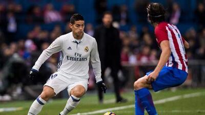 Real Madrid se desprendería de James Rodríguez por 40 millones de euros