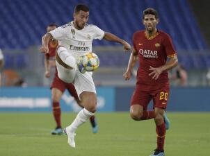 En fotos: La Roma vence al Real Madrid en penales en pretemporada