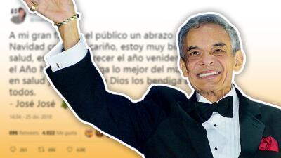 """José José espera """"reaparecer"""" en 2019"""