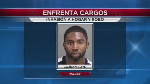 Hombre acusado de robo en 5 casas en Raleigh