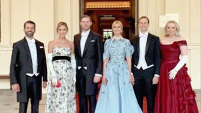 Fotos: Los hijos de Trump también están en Londres (y comparten en Instagram las imágenes del viaje)