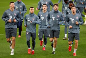 La preparación de Bayern Munich para su visita al Liverpool en Champions