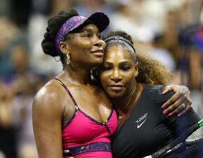 En fotos: Nadal sufrió, Del Potro sigue firme, y Serena ganó el duelo de las WIlliams