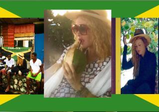 ¡Pau presume su pancita en Jamaica!