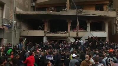 Explota carro bomba en Beirut, Líbano