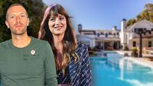 Tiene vista al mar y un patio enorme: Dakota Johnson y Chris Martin pagan 12.5 millones de dólares por esta mansión