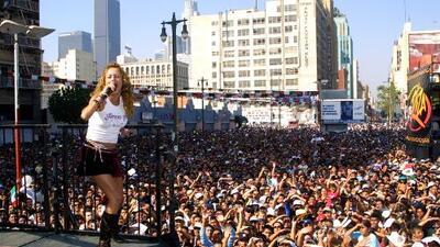 Domingo de Fiesta Broadway en Los Ángeles