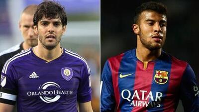 Brasil incluye a Kaká y Rafinha en lista de reservas para Copa América