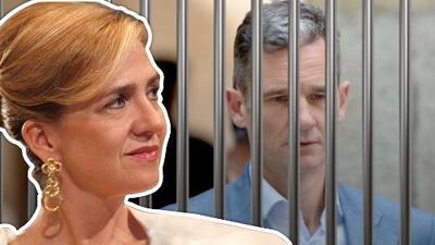 La infanta Cristina se refugia en su familia política mientras su esposo sigue preso