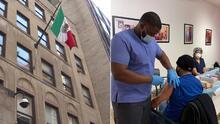 Consulado Mexicano abre el primer centro de vacunación consular en Nueva York
