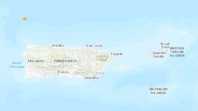 Puerto Rico sintió un fuerte temblor poco antes de la llegada de la tormenta tropical Karen