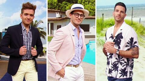 Nuestros guapos modelos desfilaron las últimas tendencias en moda masculina para el verano