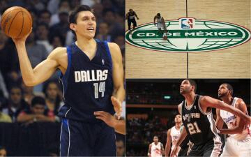 Así ha sido el camino de 25 años de NBA disputando partidos en México