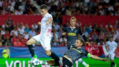 Sevilla 3-0 Borussia Mönchengladbach: El cuadro andaluz debuta en Champions con goleada