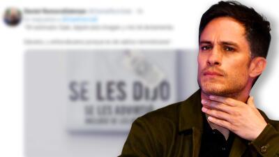 """Gael García Bernal le reclama a AMLO """"¿para qué chingados votamos por ustedes?"""" y le llueven los """"te lo dije"""""""