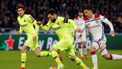 Cómo ver FC Barcelona vs. Lyon en vivo, Champions League