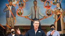 """""""No hacemos lo suficiente"""": Newsom sobre las vacunas que no llegan a las minorías en California"""