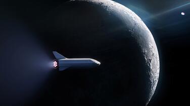 Un multimillonario japonés busca a ocho personas que quieran viajar con él a la órbita lunar