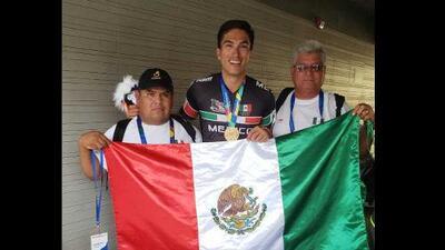 El mexicano Jorge Luis Martínez se colgó el oro en patinaje de velocidad