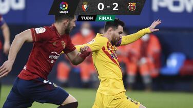 Barcelona se mantiene en la lucha por LaLiga tras vencer al Osasuna