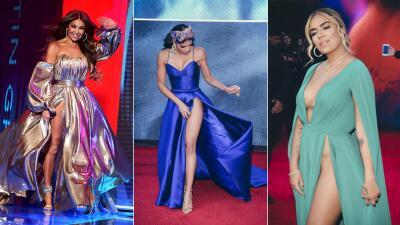 En fotos: Los vestidos más provocativos de los Latin GRAMMY