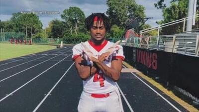 Un joven de 17 años declarado en muerte cerebral tras colapsar en medio de un partido de fútbol americano