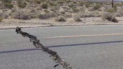 Los estragos que causó el sismo de magnitud 6.4 en la ciudad Ridgecrest