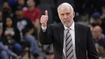 Gregg Popovich está en negociaciones para renovar con los Spurs