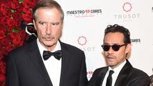 Vicente Fox le dedicó unas palabras de agradecimiento a Marc Anthony al ser premiado por su Fundación Maestro Cares