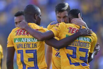 En fotos: Con un Gignac imparable, Tigres derrota a Necaxa