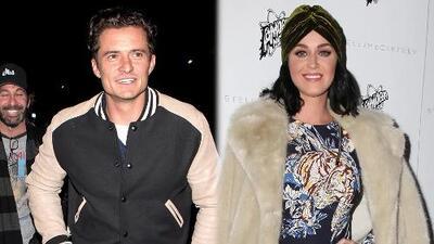 La relación de Katy Perry y Orlando Bloom florece