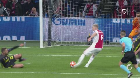Si el Ajax continúa perdonando a la Juventus podría pagarlo caro