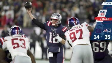 ¡Patriots y Tom Brady siguen imbatibles!
