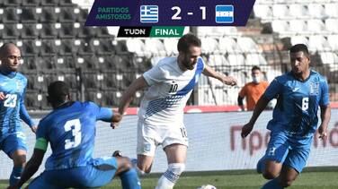 Un doblete de Pavlidis bastó para que Grecia derrotara a Honduras