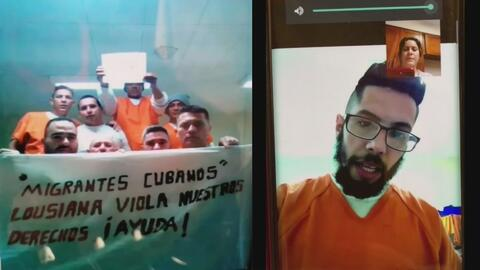 Migrantes cubanos detenidos en centros de ICE denuncian maltratos y demoras en sus casos