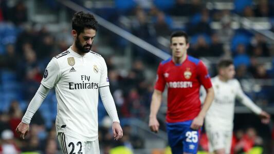 Peores derrotas del Real Madrid como local en fase de grupos de la Champions