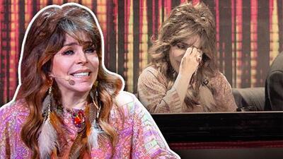 Ahora le tocó llorar a ella: las lágrimas de Verónica Castro, protagonistas del primer show de Pequeños Gigantes