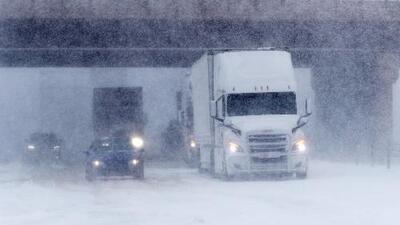 Alerta de nieve en 22 estados de EEUU por la tormenta de primavera