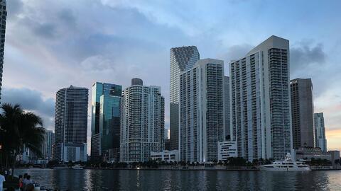Este jueves suben un poco las temperaturas en el área de Miami
