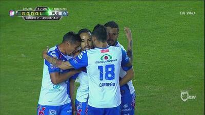 De penal, Puebla abre el marcador ante Cruz Azul por la Copa MX