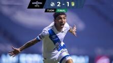 Resumen | Puebla da nueva campanada y vence 2-1 al León